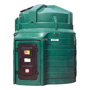 Harlequin 10000 Litre Bunded Vertical Oil Tank