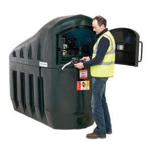Harlequin 1300SLFS Slimline Fuel Station